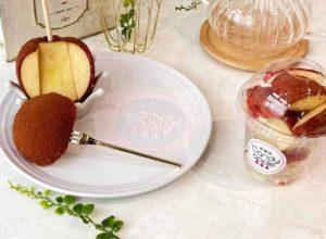 キャンディーアップルのりんご飴シナモンシュガー味