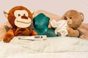 小児の病気の時