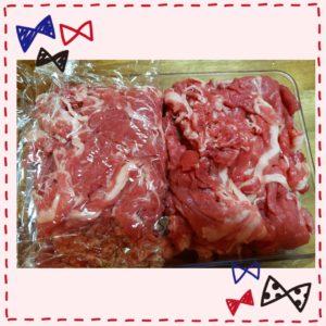 お肉の冷凍ストック方法2