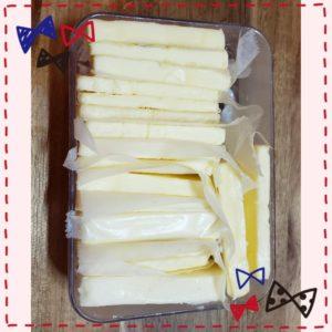 バターの冷凍保温方法③