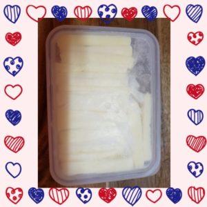バターの冷凍方法④