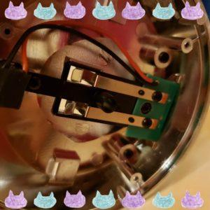 キャビスパRFコアEX充電端子1