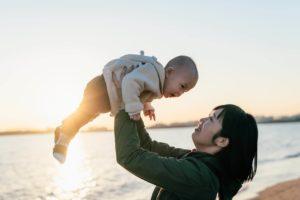ママと子供の写真2